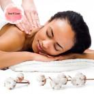Massage à la Fleur de coton - Sens' o Coeur Bien-être
